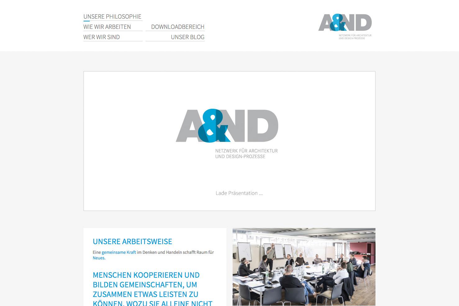 Bild 1 vom ANDnet Webseite