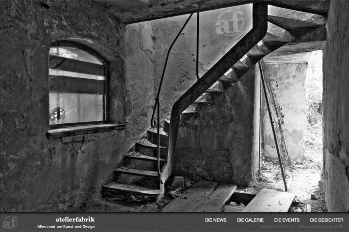 Bild 1 vom Atelierfabrik Webseite