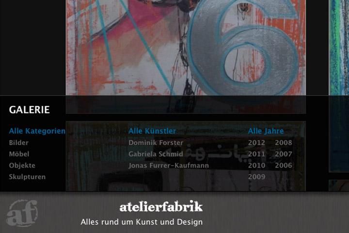 Bild 3 vom Atelierfabrik Webseite