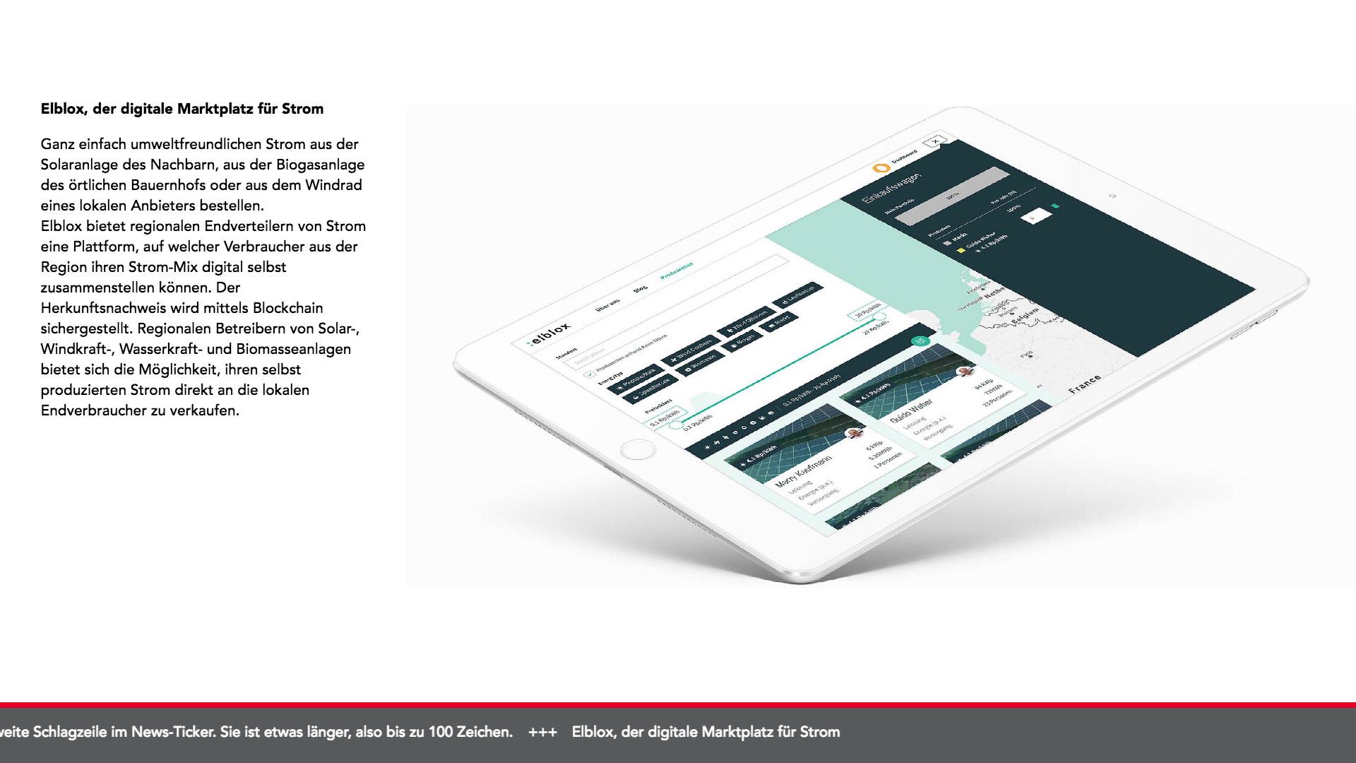 Bild 2 vom Axporama Infoscreen
