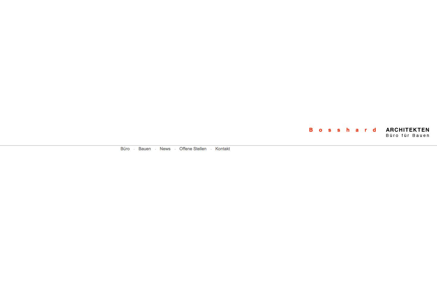 Bild 1 vom Büro für Bauen Webseite