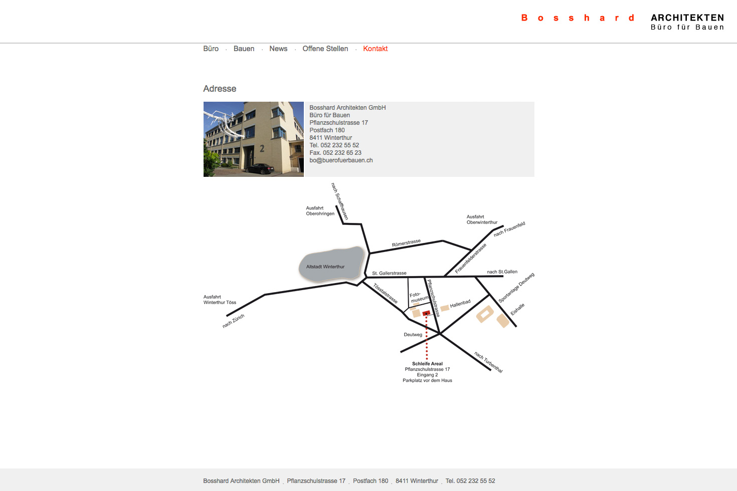 Bild 5 vom Büro für Bauen Webseite