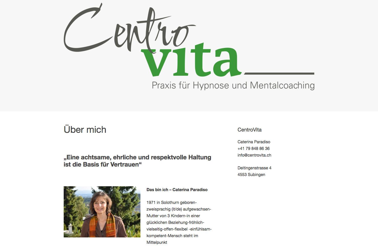 Bild 2 vom CentroVita Webseite