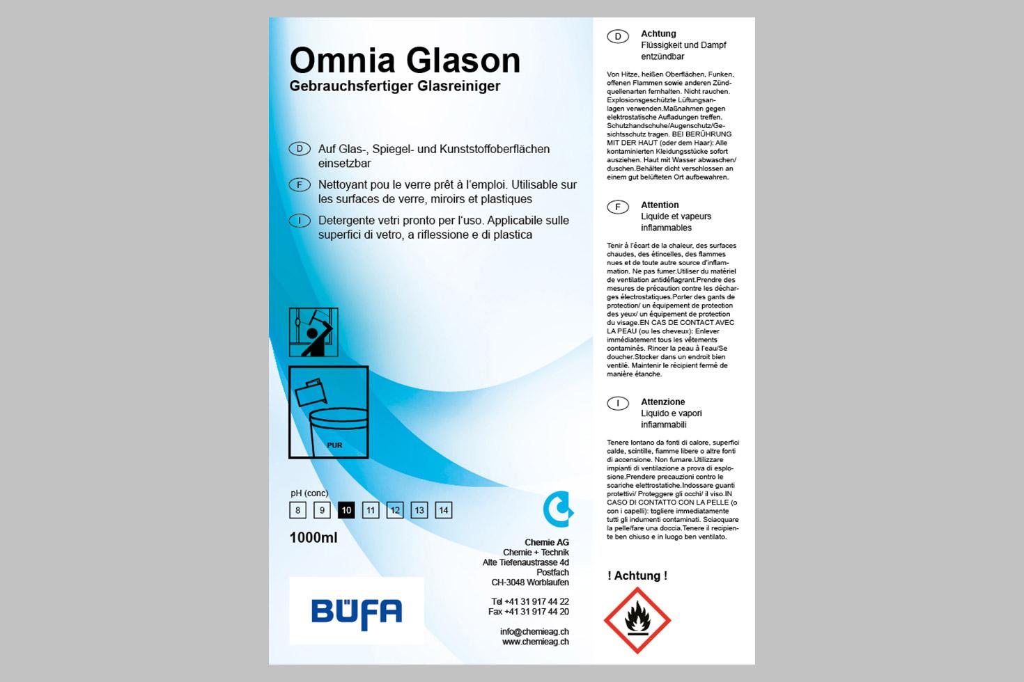 Bild 3 vom Chemie AG Etiketten