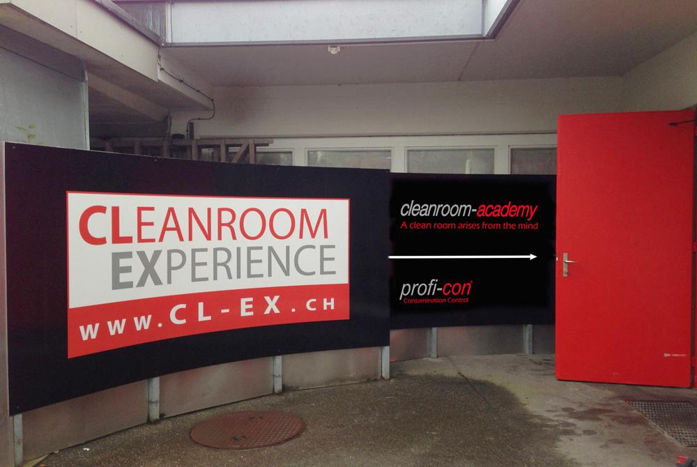Bild 1 vom Cleanroom Experience Beschriftung