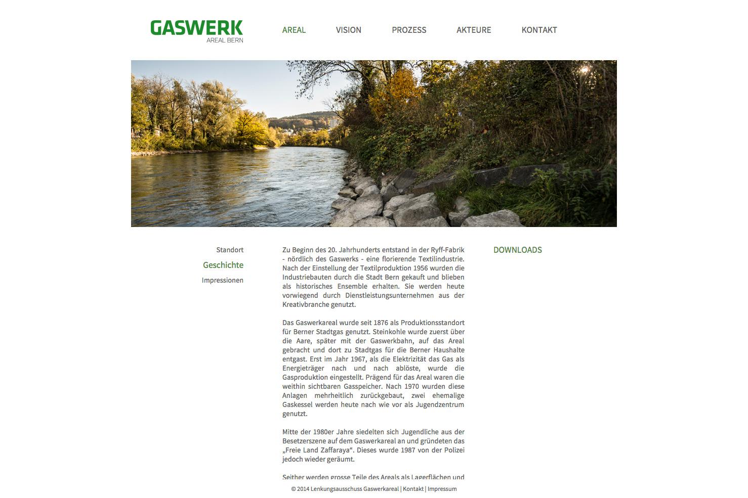 Bild 2 vom Gaswerkareal Webseite