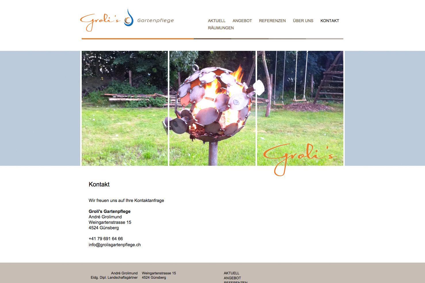 Bild 3 vom Groli's Gartenpflege Webseite