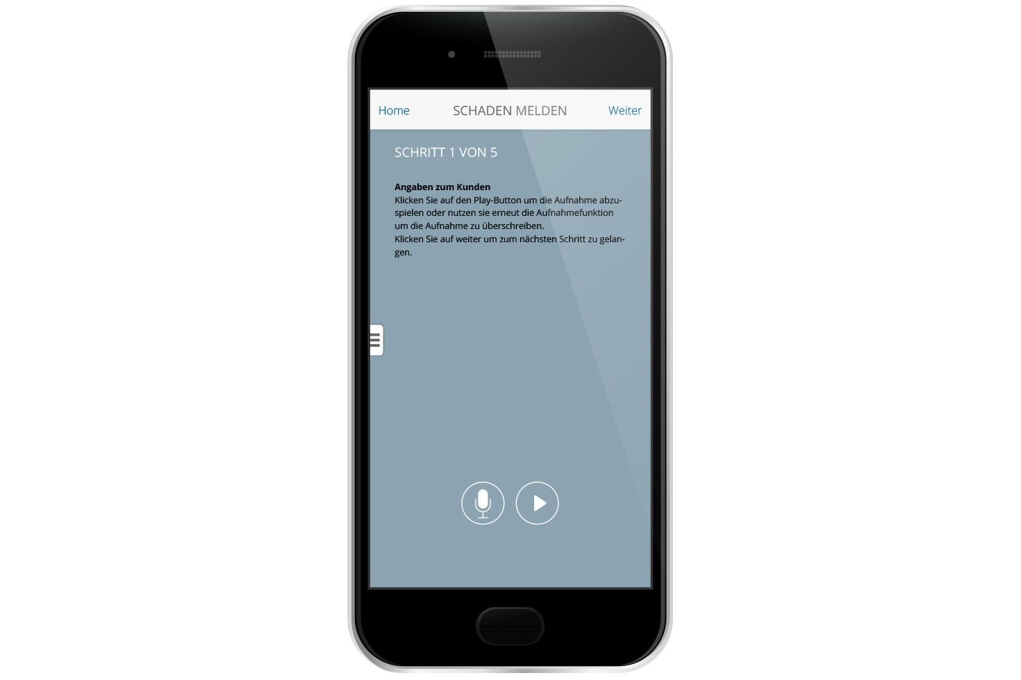 Bild 3 vom KMU Versicherungsberatung Mobile App