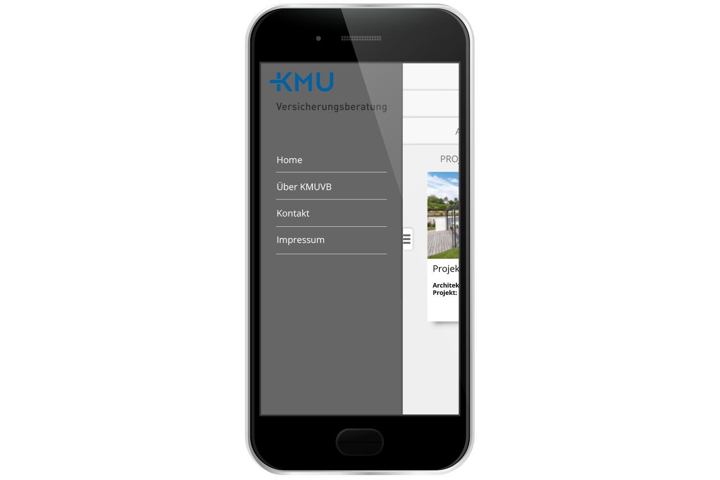 Bild 5 vom KMU Versicherungsberatung Mobile App