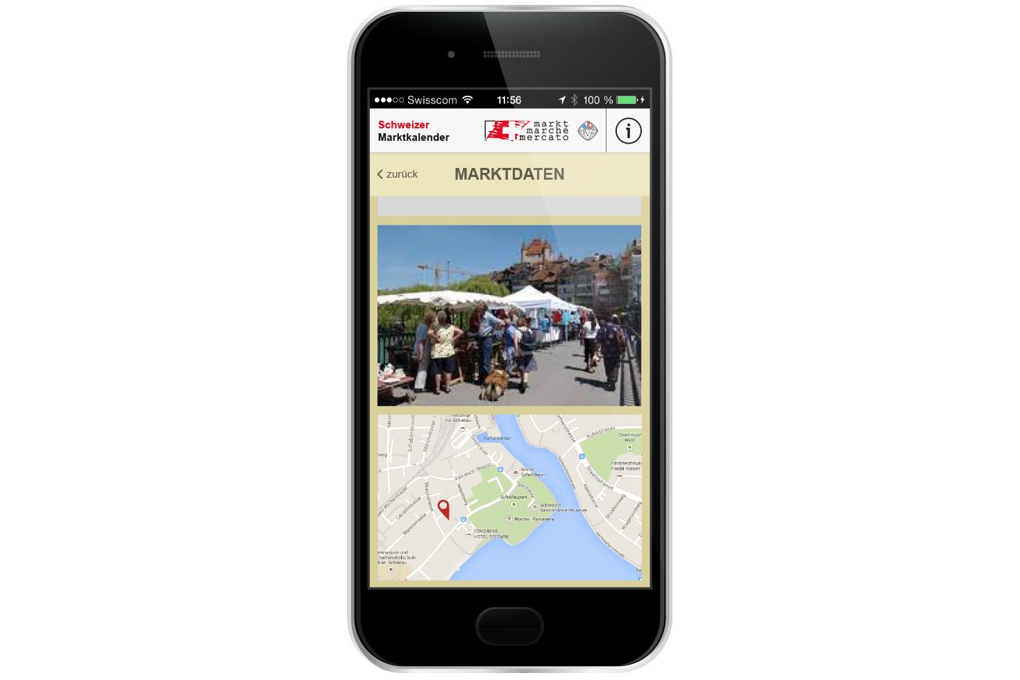Bild 3 vom Marktkalender Mobile App