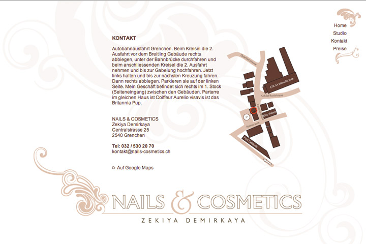 Bild 5 vom Nails & Cosmetics Webseite