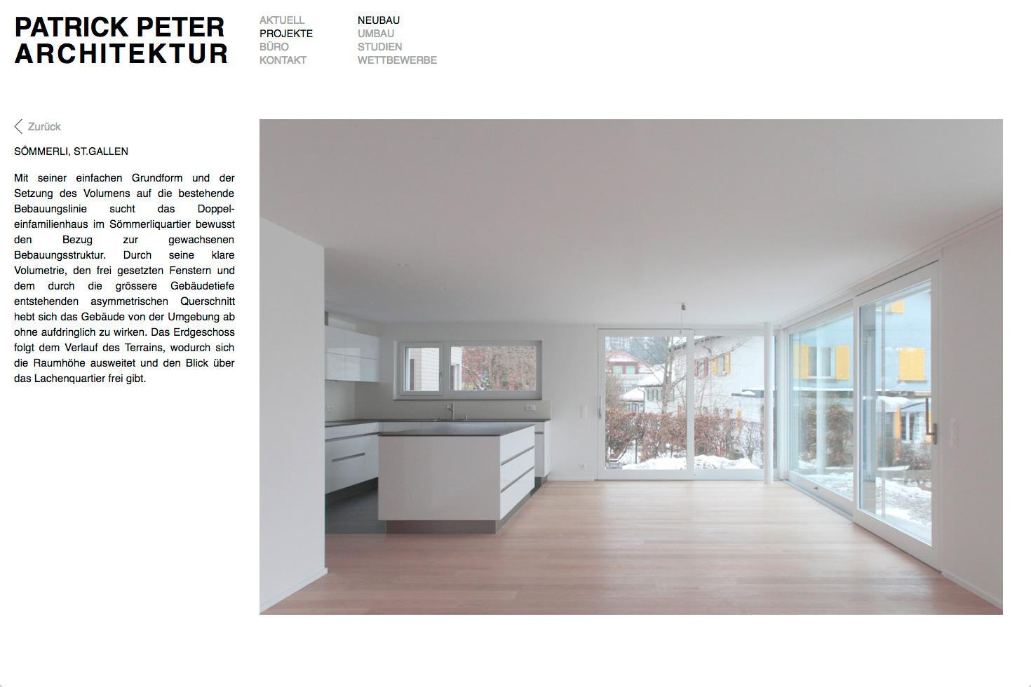 Bild 3 vom Patrickpeter-Architektur Webseite