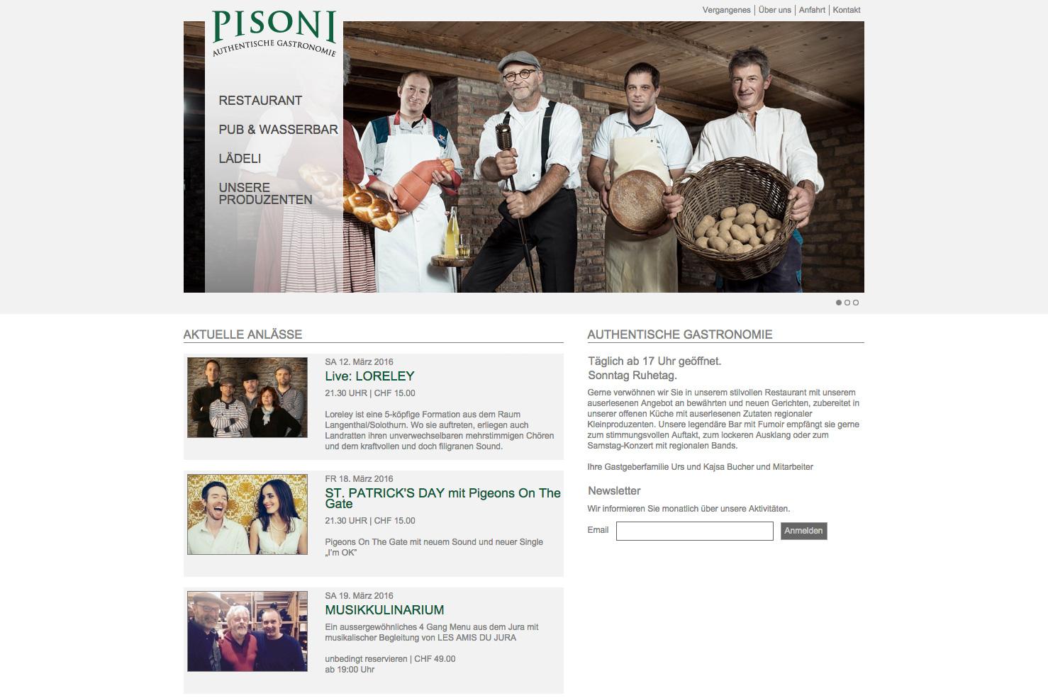 Bild 1 vom Pisoni Webseite