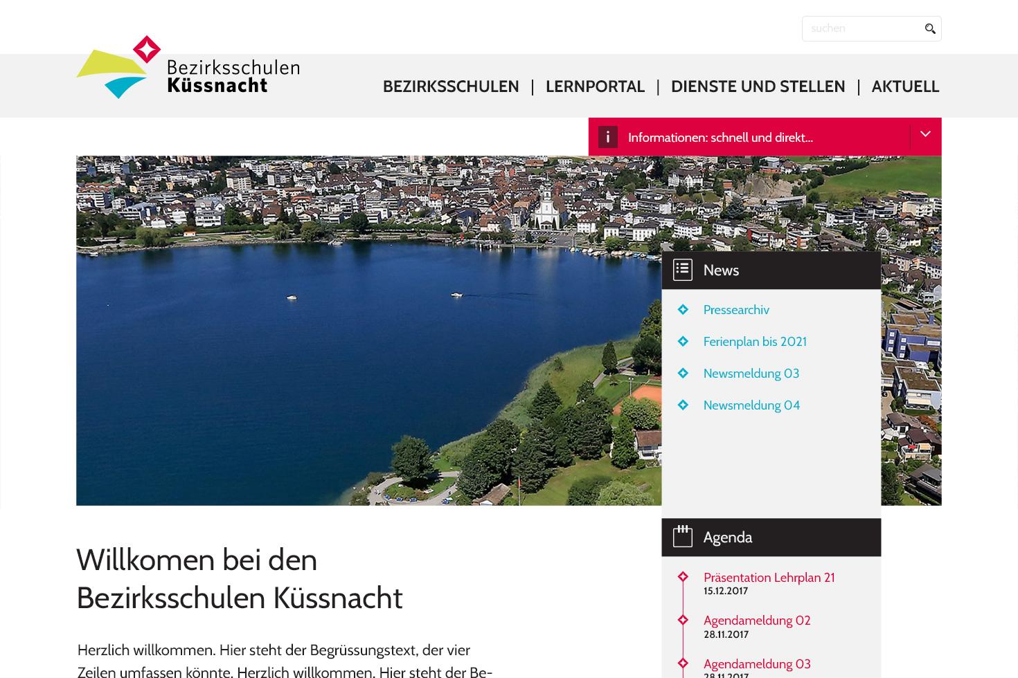 Bild 5 vom Screendesign für Webseiten
