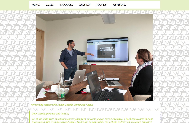 Bild 5 vom Sotto Voce Webseite