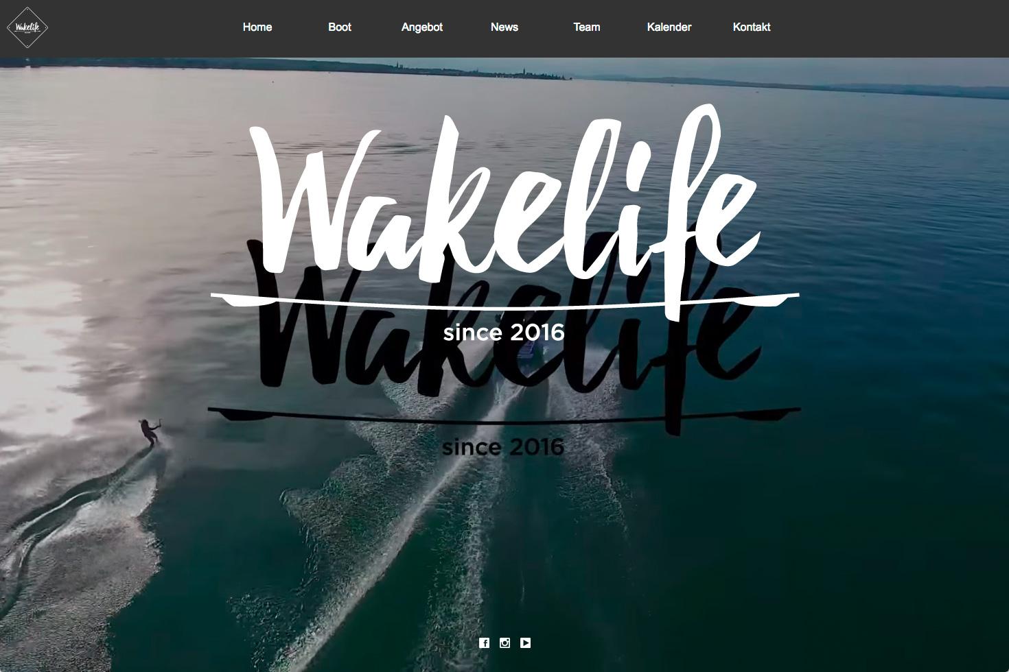 Bild 1 vom Wakelife Webseite