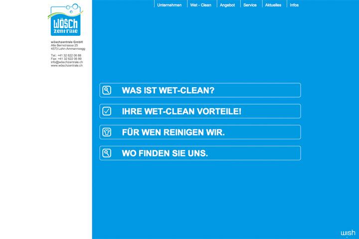Bild 3 vom Wöschzentrale Webseite