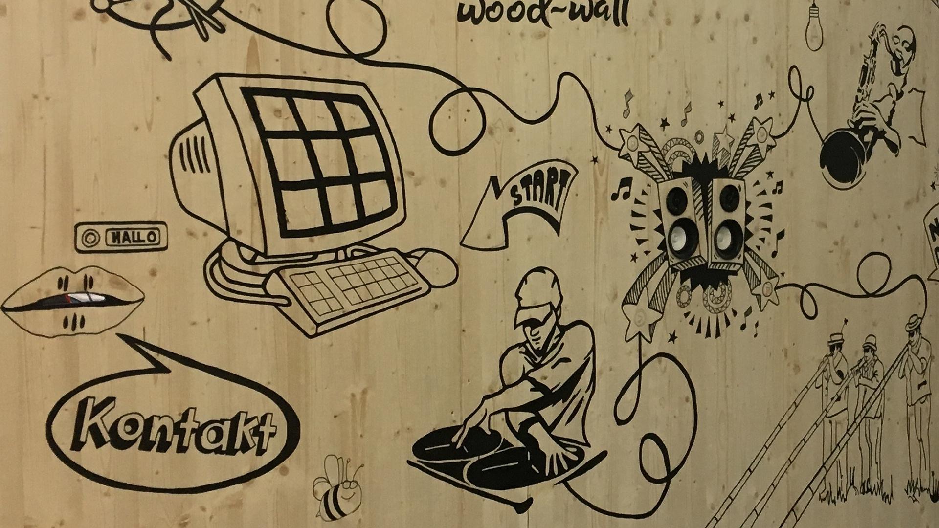 Bild 3 vom Touch-Wood-Wall